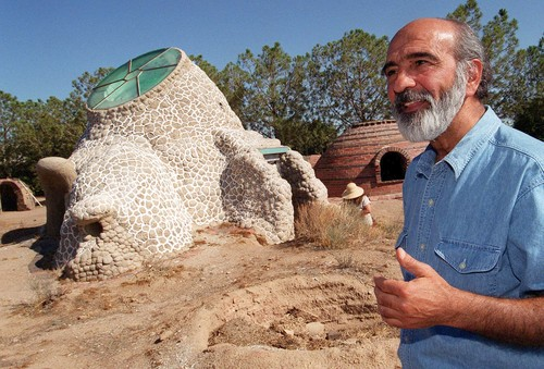 lat nader khalili Developed earth architecture: the superadobe