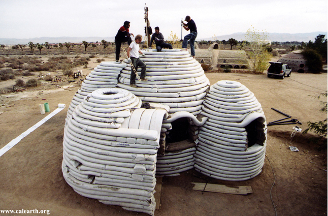 untitled 1 Developed earth architecture: the superadobe