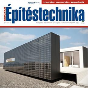 Médiapartnerünk lett a Magyar Építéstechnika