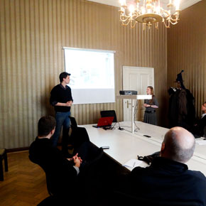Odoo at the Chamber of Hungarian Architects