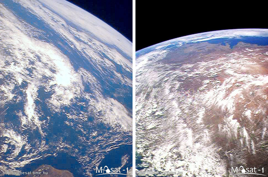 masat 21 Masat 1 captured the first photographs from space