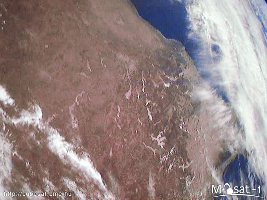 masat 3 Masat 1 captured the first photographs from space