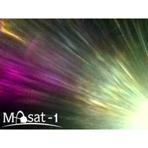 Masat-1 captured the first photographs from space