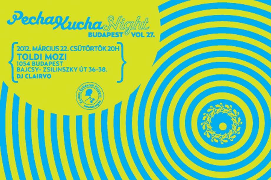 vol27 banner 4 Pecha Kucha Night vol.27.