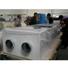 The air handling unit is almost ready, by Rosenberg