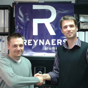 Agreement signed with Reynaers