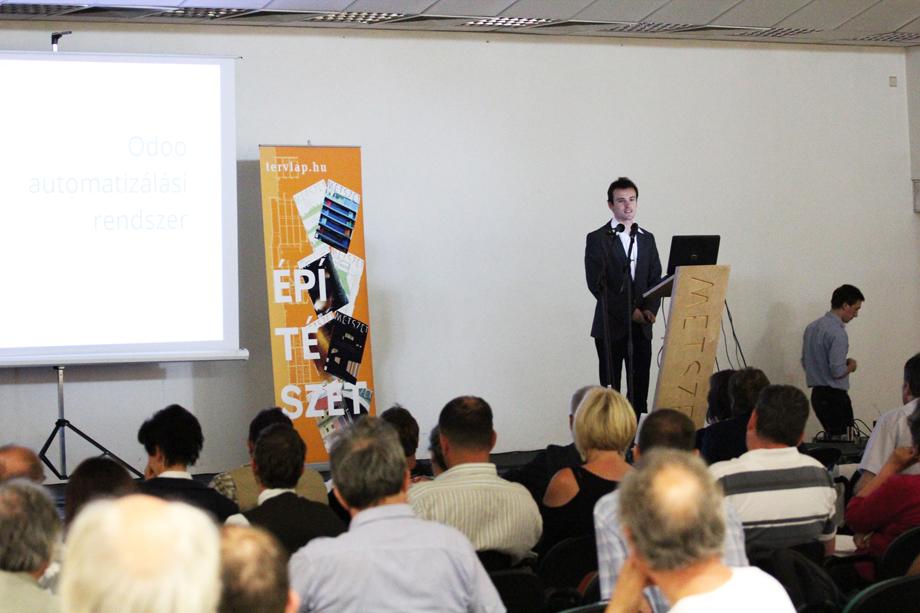 IMG 8226 Intelligens Épület   Metszet konferencia
