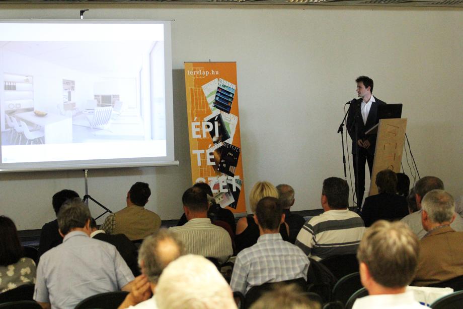 IMG 8293 Intelligens Épület   Metszet konferencia