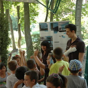 Odooproject held workshops for children in summer camps